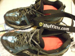 Stuffitts in shoes